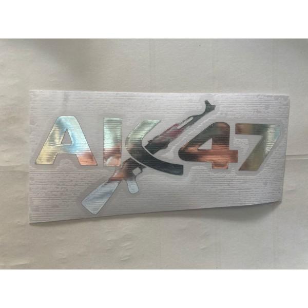AK 47 STİCKER NİKEL
